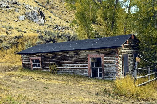 Bannack Log House, Old Bannack Townsite