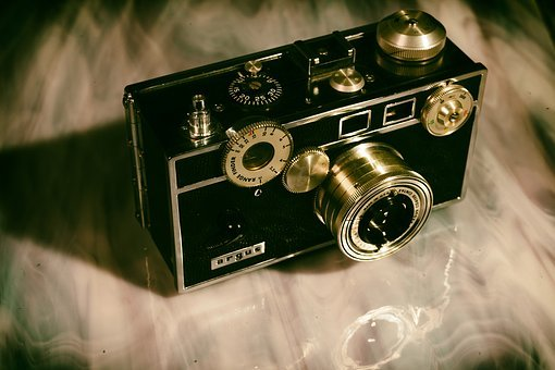 Camera, Vintage, Antique, Photography, Retro, Old, Film