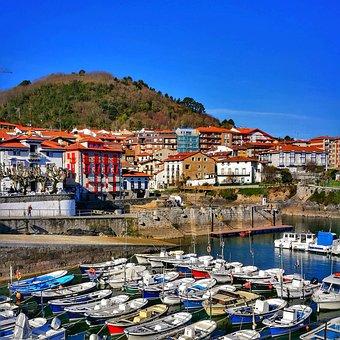 Boats, Fishing, Port, Landscape, Sea, Calm