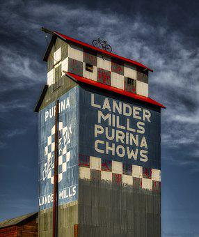 Landers Mills, Purina Chows, Sky, Clouds, Mood