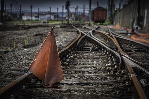 Train, Track, Rails, Transport, Travel, Metal, Gravel