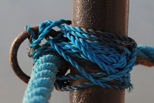 Cord, Knot, Rope, Nautical, Fixing, Cordage, Bound, Dew