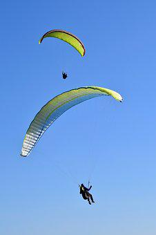 Paragliding, Paraglider, Paragliders, Wings, Sails