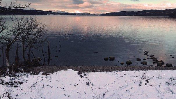 Loch, Lake, Mountains, Scotland, Water, Landscape