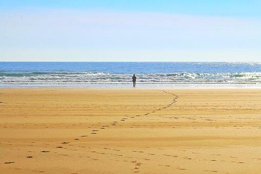 Lonely, Atlantic, Beach, Sea, Ocean, Freedom, Iceland
