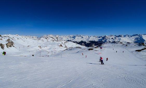 Mountain, Ski, Snow, Winter, Sport, Landscape, Alpine