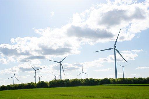 Mill, Wind Turbine, Wind, Sky, Energy, Landscape