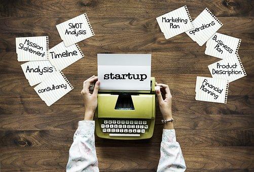 Startup, Start Up, Freelancer, Typewriter, Skills, Can