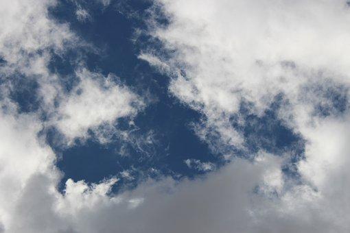 Sky, Clods, Blue, Clod, Day, Summer