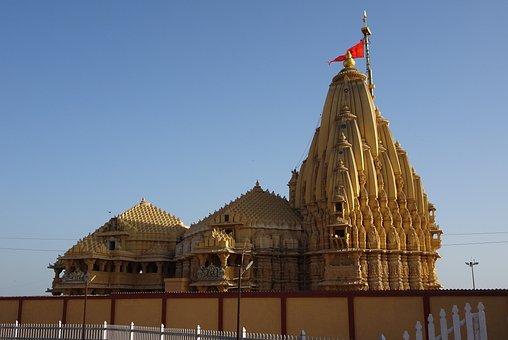 Temple, Somnath, Architecture, Chalukyan, Jyotirlinga