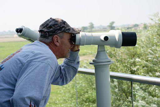 Binoculars, Watch, Observation, View, Optical, Vision