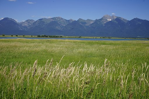 Mission Mountains, Montana, Rocky Mountains, Wetlands