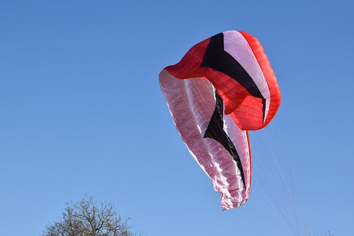 Paragliding, Paraglider, Closed Veil, Sails, Wings