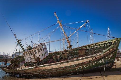 Ship, Wreck, Shipwreck, Fisher, Vintage, Abandoned