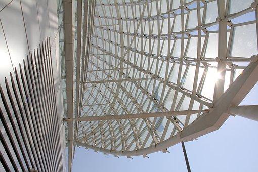 Yas Hotel Abu Dhabi, Architecture, White, Building