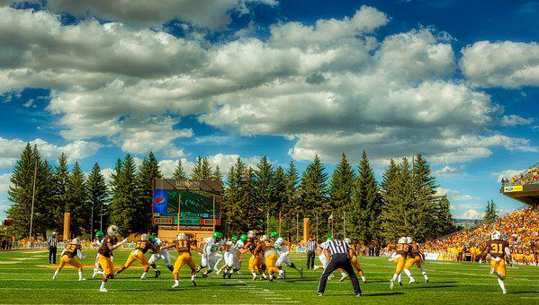 University Of Wyoming, America, Football, Colleges