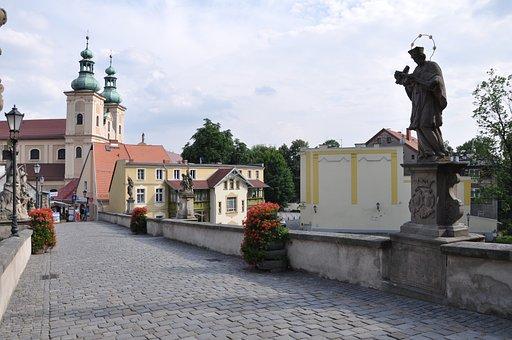 Poland, Klodzko, Architecture, City, Monuments, Bridge