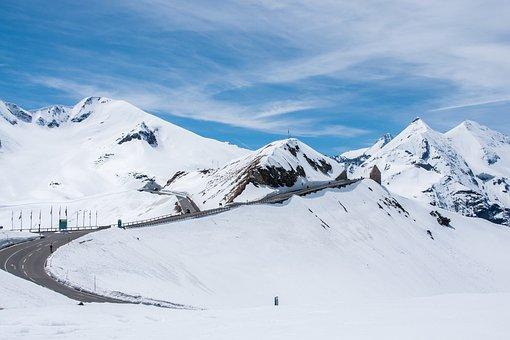 Carinthia, Austria, Alpine, Mountains, Snow, Sky