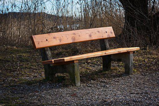 Bench, Bank, Sit, Seat, Rest, Wood, Nature, Relaxation