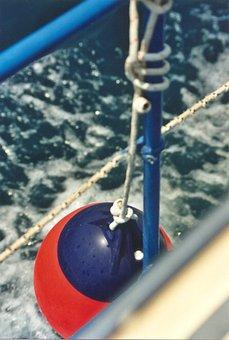 Boat, Boje, Vacations, Sea, Water, Nature, Blue, Marina