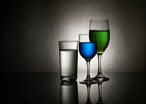 Glass, Cup, The Drink, Alcohol, A Glass Of