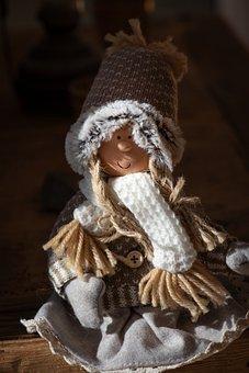 Dwarf, Deco, Girl, Fairy Tales, Small, Decoration, Imp