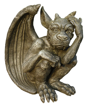 Dragon, Gnome, Gargoyle, Fantasy Figure