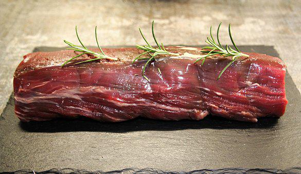 Fillet Of Beef, Fillet, Steak, Meat, Fry, Grill