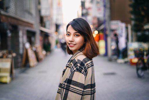 Asian, Japanese, Girl, Woman, Pretty, Cute, Portrait