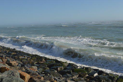 Atlantic, Current, Ile De Ré, Ocean, Village, Port
