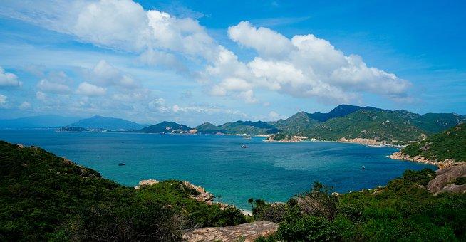 Cam Ranh Bay, Cam Ranh Sea, Khanh Hoa, Vietnam, Pure