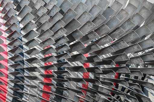 Engine, Lamellar, Background, Material, Metal