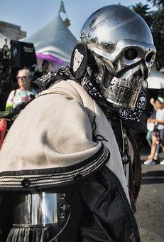 Man, Male, Men, Horror, Mask, Skull, Masquerade, Person