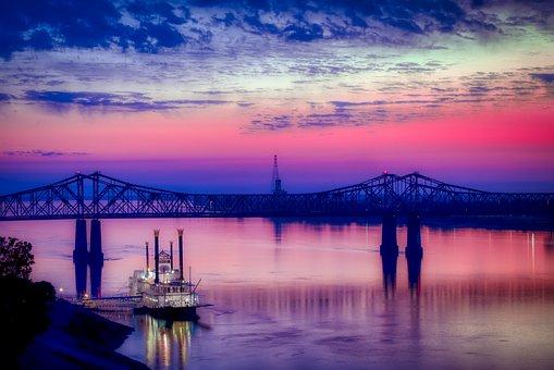 Casino Boat, Ship, Natchez, Mississippi River