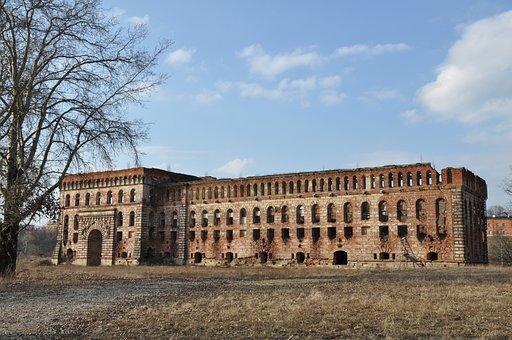 Poland, Modlin, Granary, Fortress, Monument