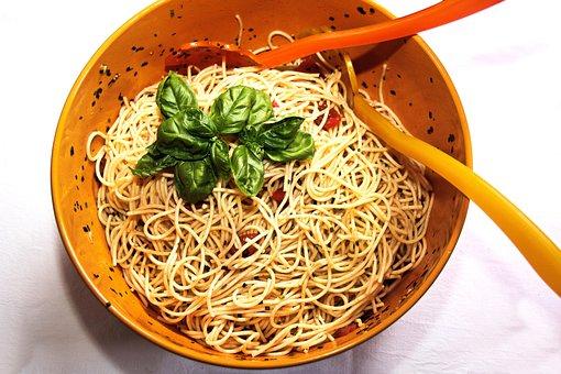 Pasta, Noodles, Spaghetti, Italian, Food, Carbohydrates
