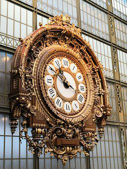 Watch, Station, Train, Ancient, Orsay