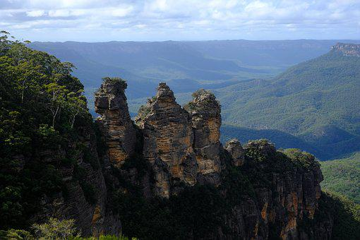 Three Sisters, Blue Mountains, Landscape, Australia