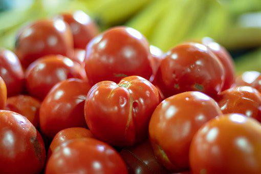 Tomato, Fresh, Market, Vegetable, Tomatoes, Red