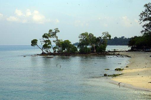 Beach, Sea, Shore, Coast, Scenic, Vijaynagar, Havelock