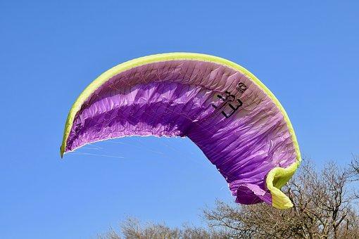 Sailing Paragliding, Wing Paragliding, Closing Wing