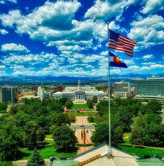 Denver, Colorado, Civic Center, City, Urban, Cityscape