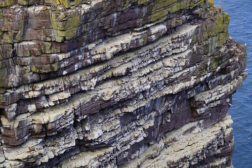 Coast, Scotland, Rock, Cliff, Sea, Ocean