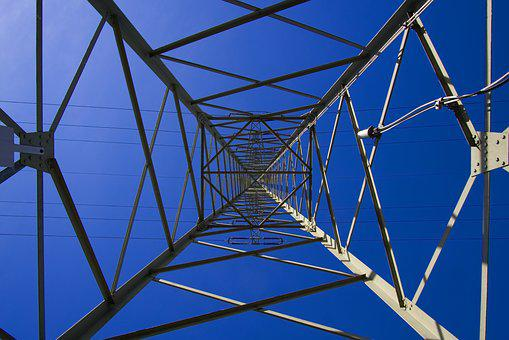 Strommast, Mast, Structure, Construction, Geometry