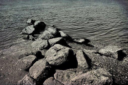 Crescent Beach, Bc, Ocean, Canada, Water, Pacific