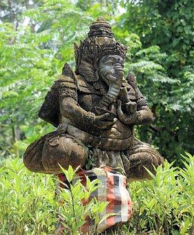 Ganesha, Images, Buddhism, Bali