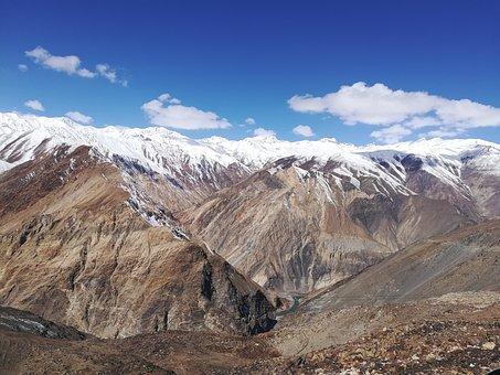 Nako, Himalaya, Spiti, Himalayas, Mountain, Adventure