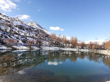 Nako, Lake, Himalaya, Spiti, Himalayas, Mountain