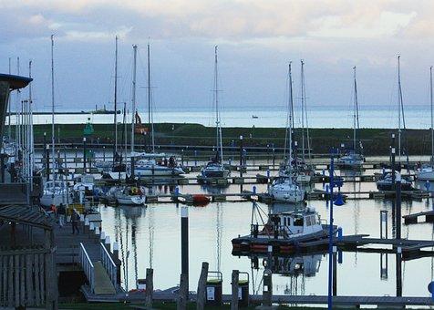 Haven, Boat, Sailing, Ship, Water, Port, Holidays