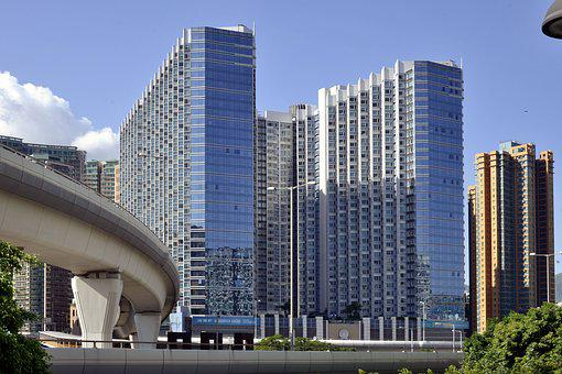 Hong Kong, Hotel, Outdoors, Architecture